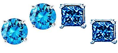 Blue Diamond Stud
